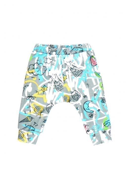 Blue expressions unisex pants for kid, baby, toddler, girl, boy