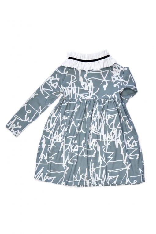 First art collar dress Anna for toddler, girl, kid