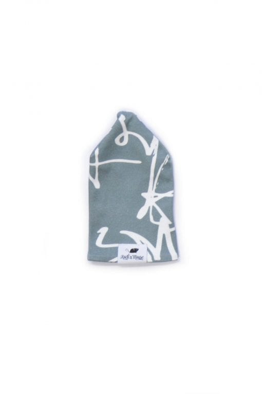 Reverable monochrome unisex beanie hat for toddler, baby kid, boy, girl