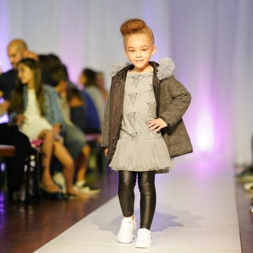 """Wool blend coat with padded lining and tulle """"fur"""", grey girl monkeys dress with tulle detail, unisex kids leather look leggings for toddlers, baby, boy, girl"""