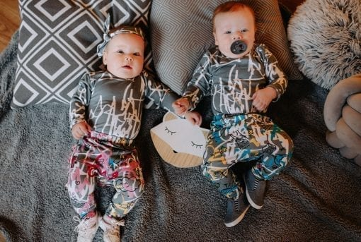 Unisex baby outfits with first art and expressions prints for kid, baby, girl, boy, toddler