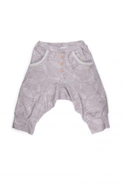Dark leaf harem shorts for toddlers, boys, unisex, girls, baby