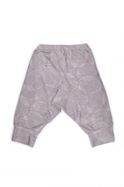 Dark leaf harem shorts