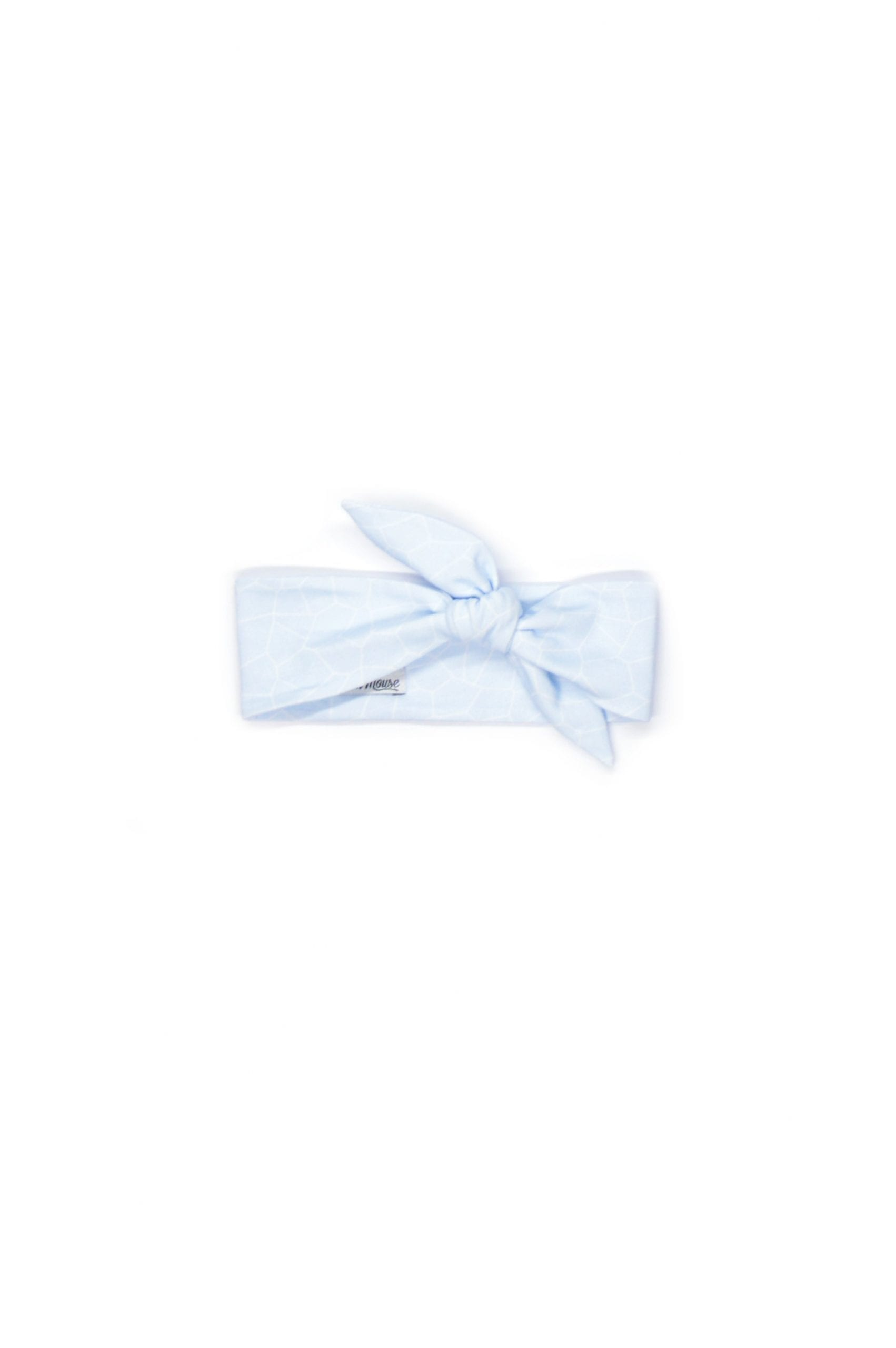 Light blue headband for baby, girl summer outfit