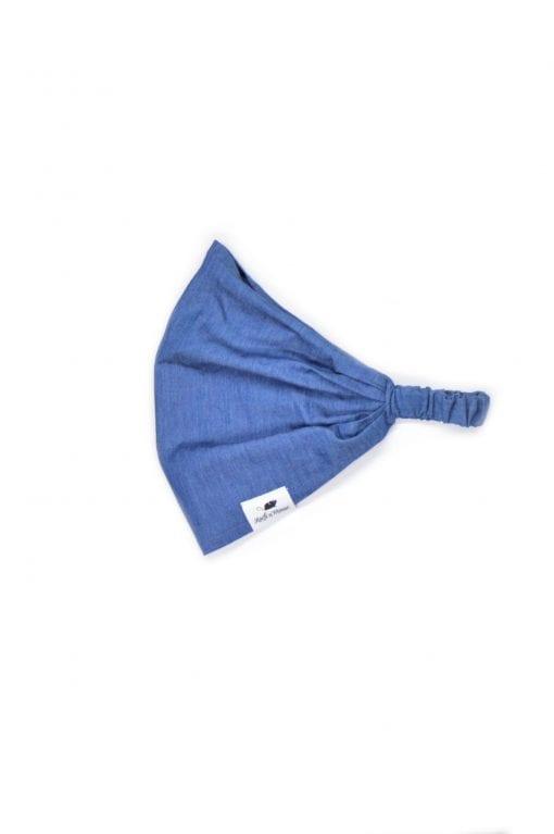 Denim headband – summer bandana hat for toddler, girl, kid