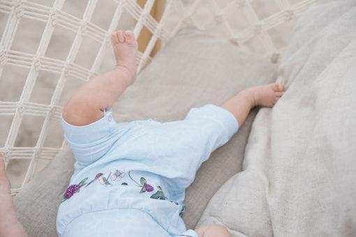 Sky flower romper for baby, girl, kid, boy, toddler