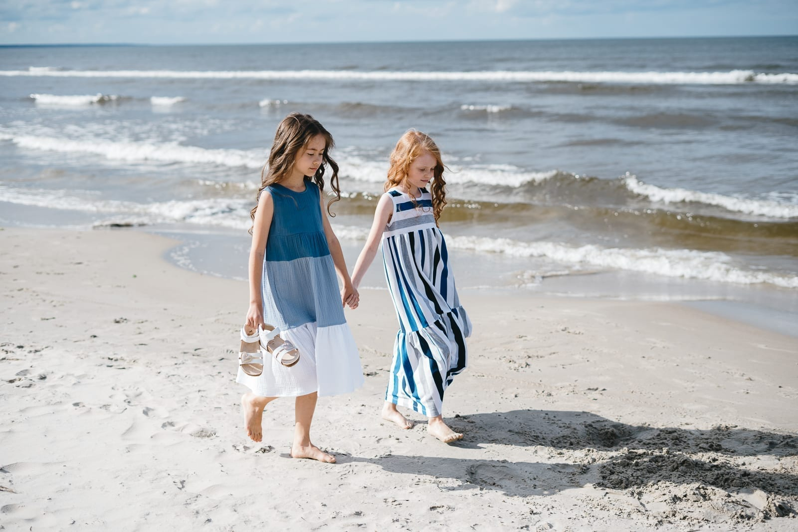 Maxi summer dresses for girls, toddlers, kids