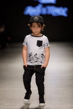 Monochrome unisex outfit set for kids, toddlers, boys and girls