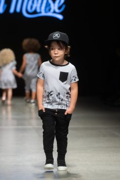 Monochrome outfit set for kids