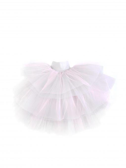 Toddler girl kids pink mega tulle skirt