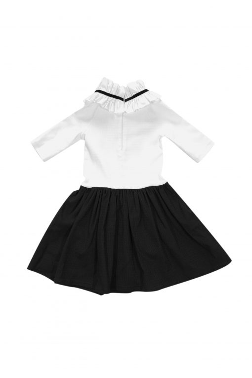 Looking for an elegant dress with a special design for your girl? You have found it! Going back to school and meeting new and old friends is always a special event in every kids life. We know that both - girls and boys - want to look great on a such a big day, so we have created an elegant mini collection. There is no doubt - in Rock and Mouse clothing your kid will look classy and great and feel comfortable all day long. Rock and Mouse clothing is made for kids to feel confident and unique. We know that it is important for kids clothing to be very durable, therefore only high quality fabrics are used. All our garments are made only by professional and skilled masters. All Rock And Mouse garments and accessories are carefully designed to ensure maximum freedom of movement and easy to maintenance so the clothing would last a long time and be practical. By contacting us individually, we also offer customization options to meet your needs. Our professional team will help with the implementation of your ideas in the highest quality.