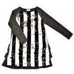 Reversible sequin dress for girl, kid, toddler